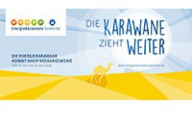 "Die ""Energiekarawane Gewerbe"" kommt in den Gemeindeverwaltungsverband, ziehen Sie mit?"