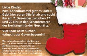 Such den Nikolausstiefel