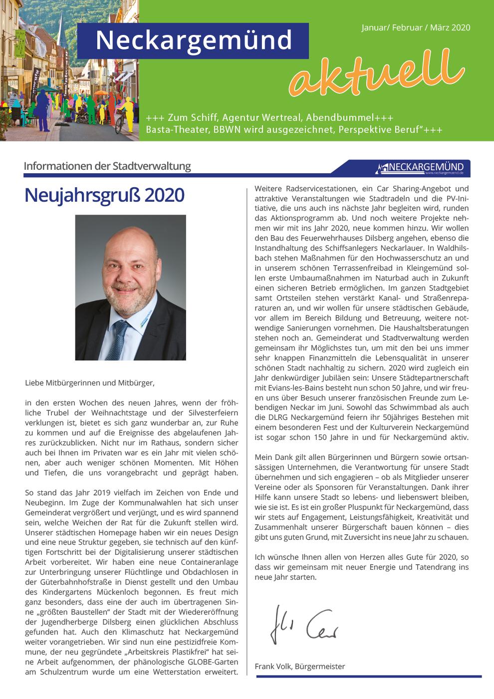 Neckargemünd aktuell 01/2020