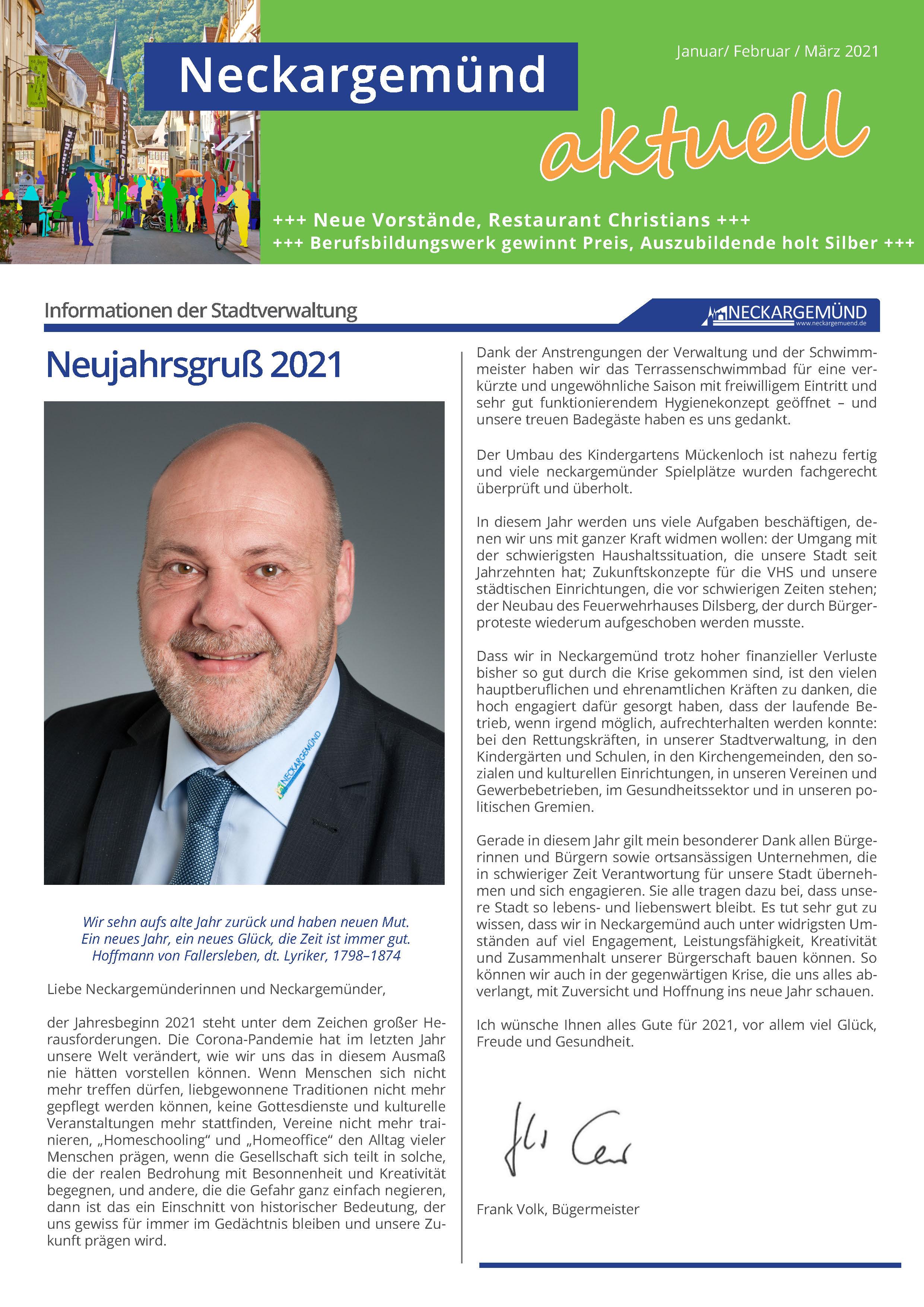 Neckargemünd aktuell 01/2021